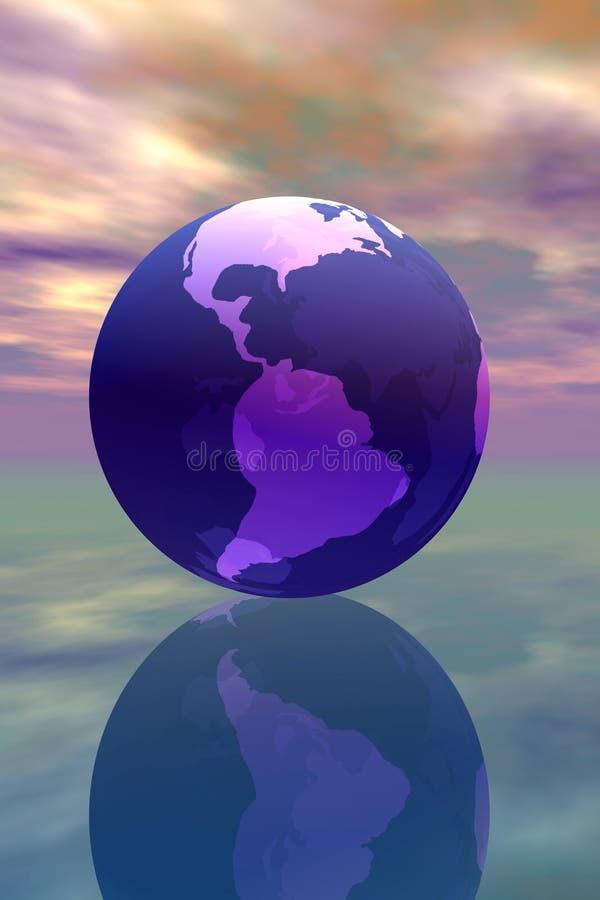 jordklot vektor illustrationer