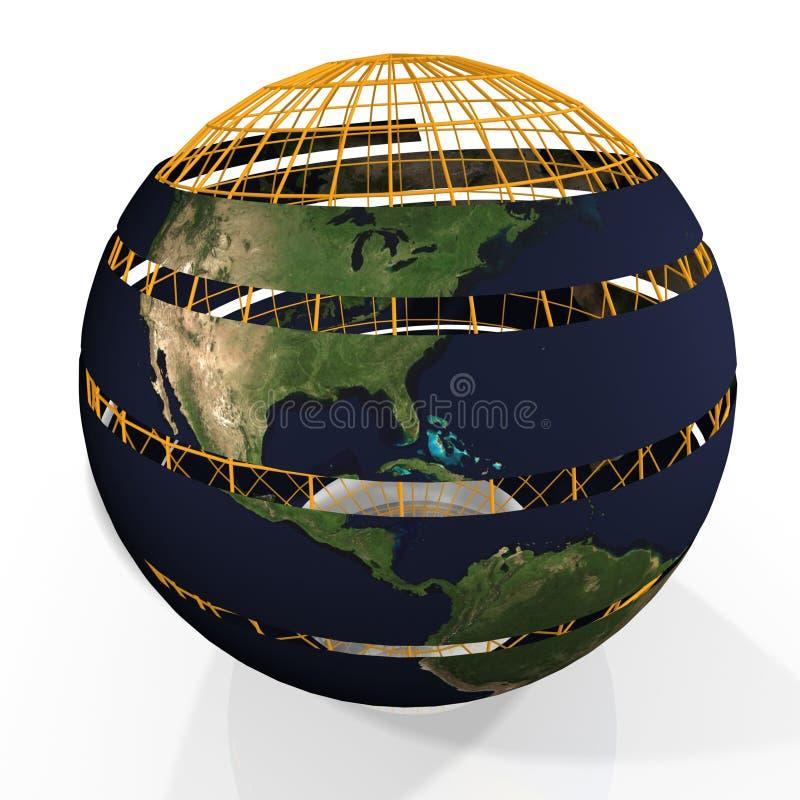 Download Jordklot arkivfoto. Bild av tråd, nationer, internationellt - 987842