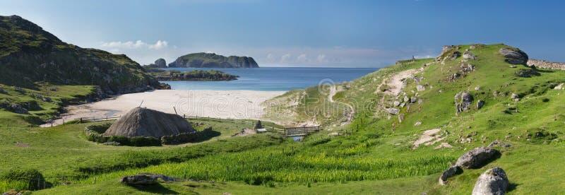Jordlapp på ön av Lewis arkivfoto