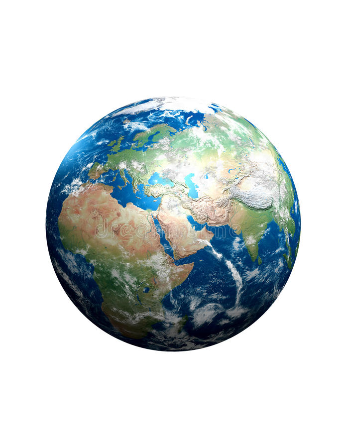 Jordplanet arkivfoton
