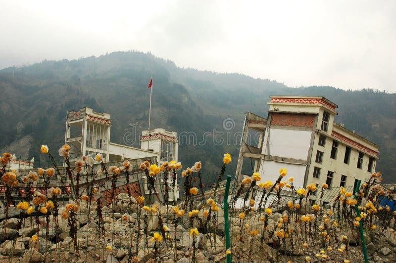 jordskalv royaltyfri foto