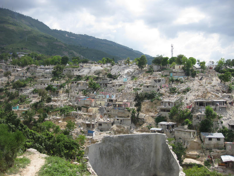 jordskalv haiti arkivfoton