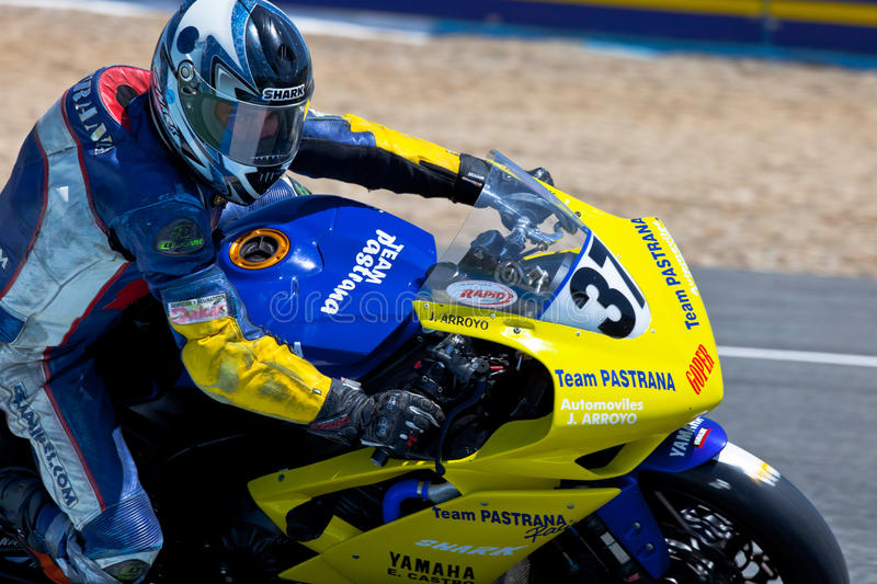 Download Jorge Arroyo Pilot Of Stock Extreme Of The CEV Editorial Photography - Image of motobike, accelerate: 20123587