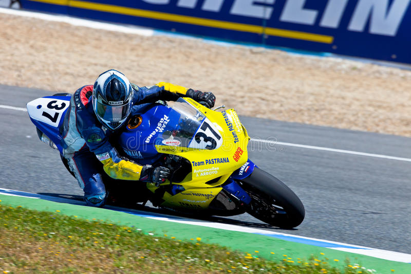 Jorge Arroyo pilot of Stock Extreme of the CEV Championship stock images