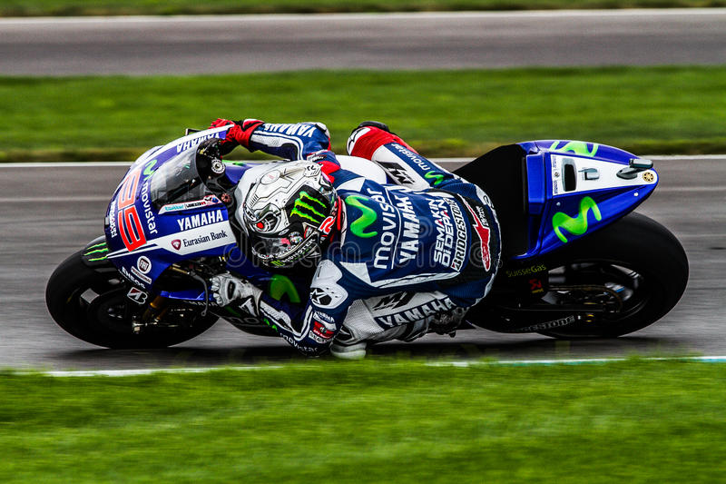 Jorge Lorenzo Moto GP royalty free stock image