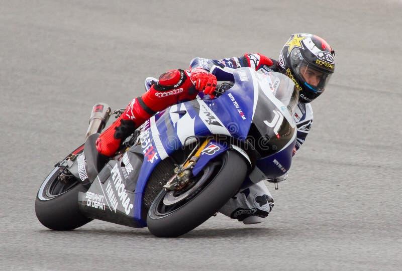 Jorge Lorenzo (Yamaha) lizenzfreie stockfotos
