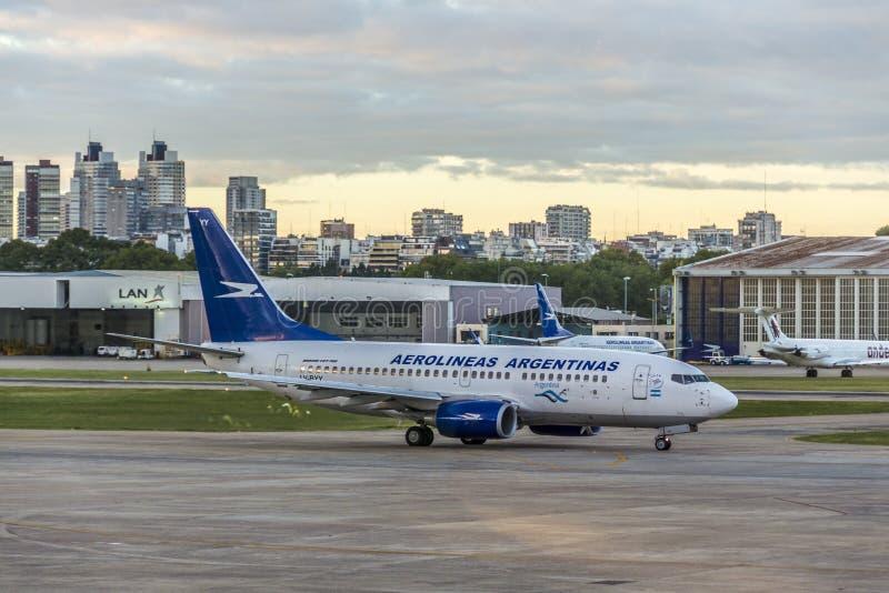 Jorge Newbery Airport, Argentine photo libre de droits