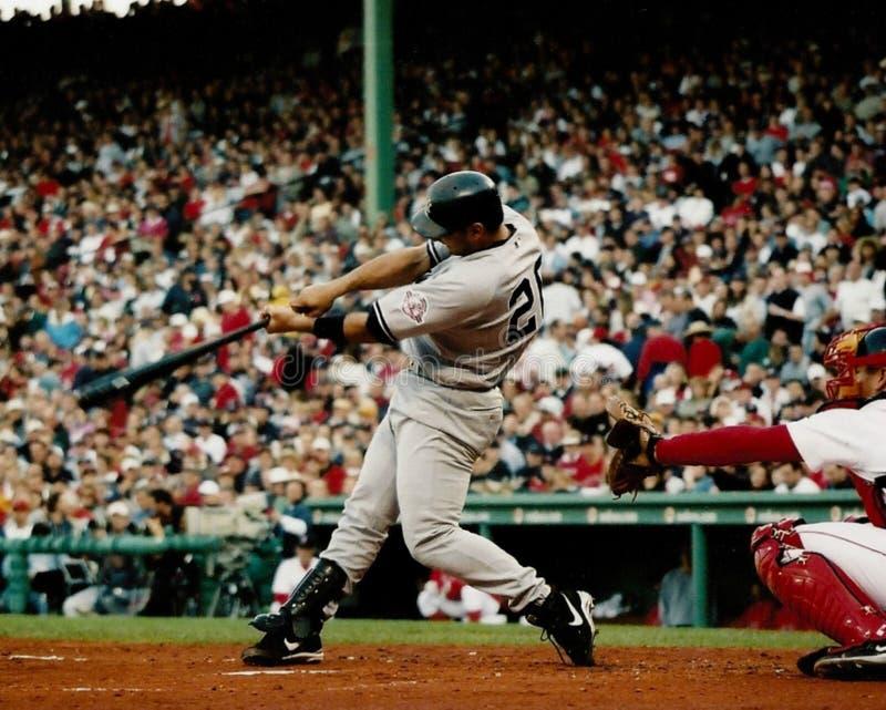 Jorge Posada New York Yankees fotografie stock libere da diritti