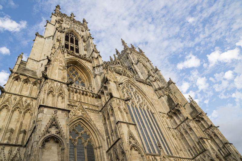 Jork minister - North Yorkshire Anglia fotografia stock