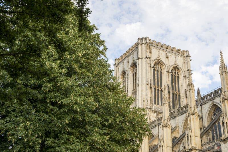 Jork minister - North Yorkshire Anglia zdjęcie royalty free
