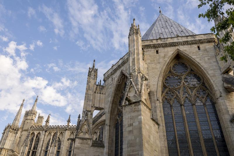 Jork minister - North Yorkshire Anglia obrazy royalty free