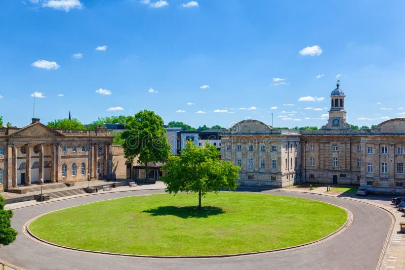 Jork sąd koronny, Anglia zdjęcia stock