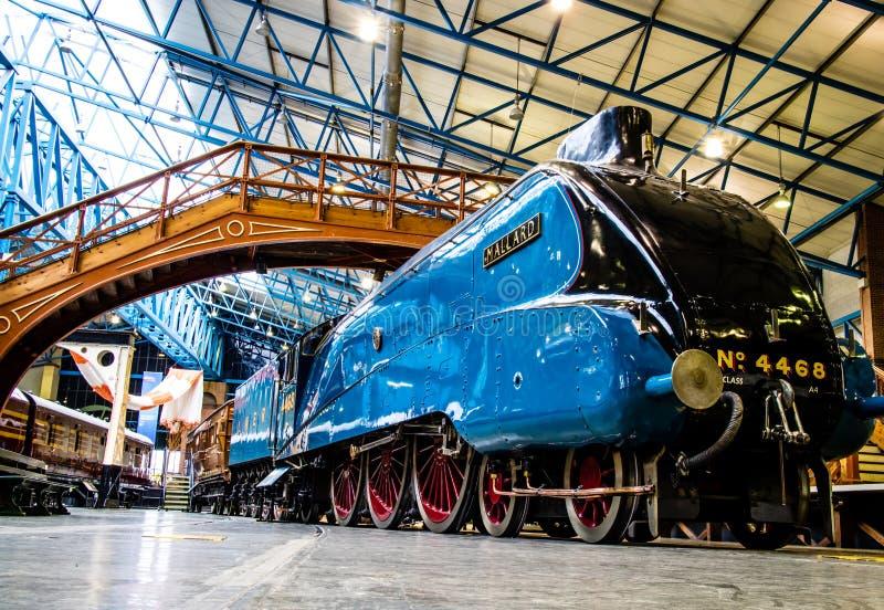 Jork, Zjednoczone Królestwo - 02/08/2018: A4 Parowej lokomotywy świat rec obraz royalty free