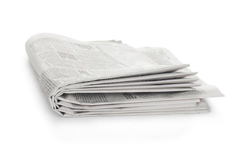 jornais velhos imagem de stock