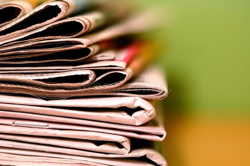 Jornal fotografia de stock royalty free
