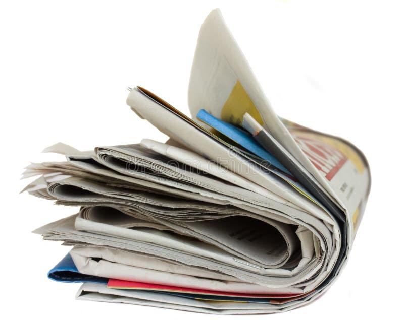 Jornal fotos de stock royalty free