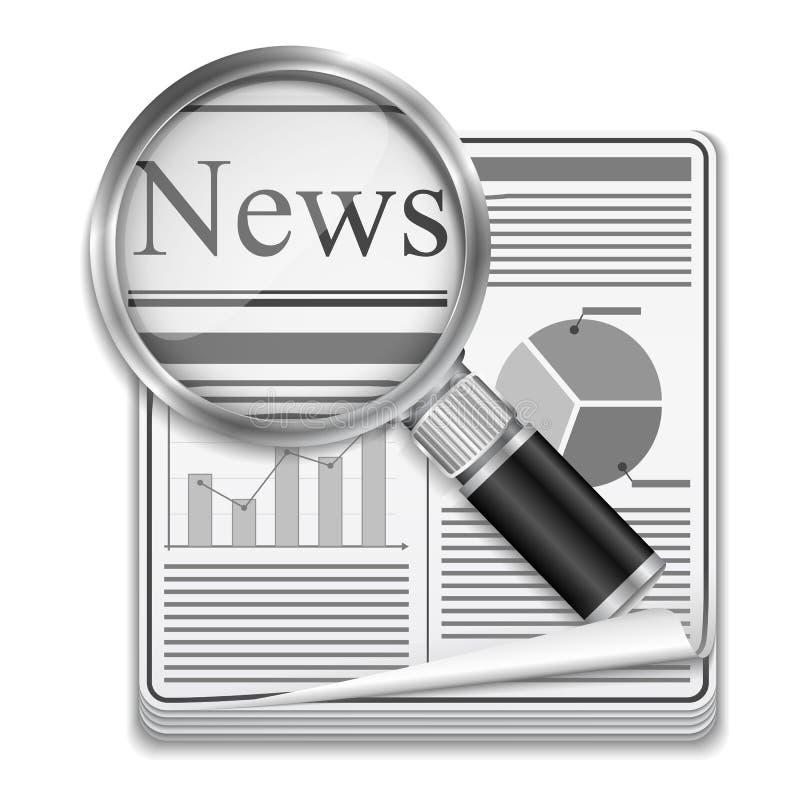 Download Jornal ilustração do vetor. Ilustração de newsprint, finanças - 26522637