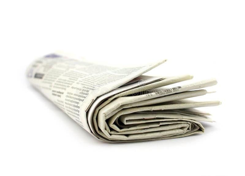 Jornal imagem de stock