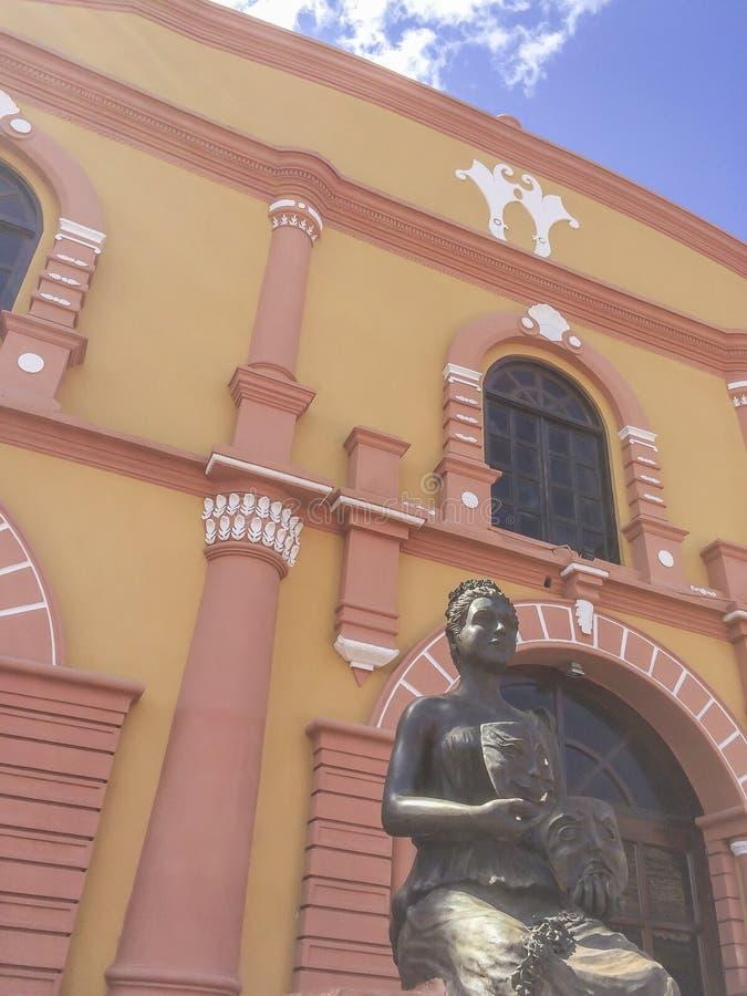 José De Los angeles Cruz Mena miejski teatr obrazy royalty free