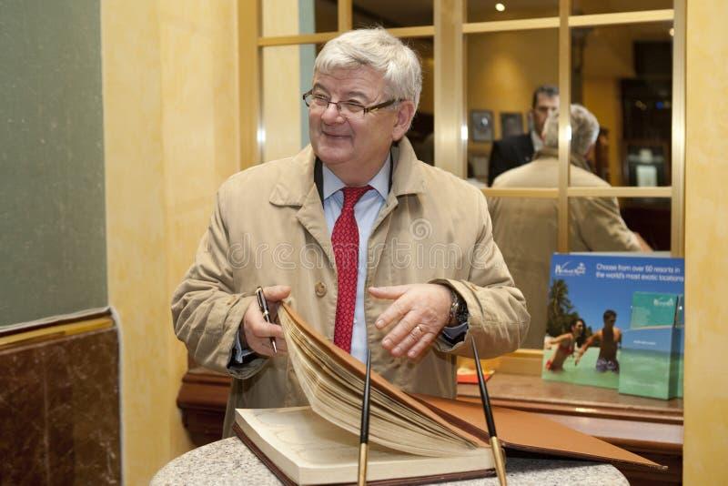 Joschka Fischer fotografia de stock