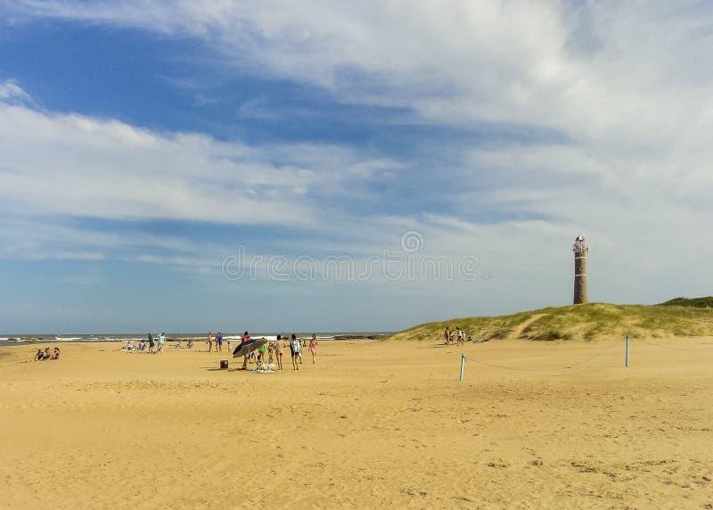 Jose Ηγνάτιος Beach στοκ φωτογραφία με δικαίωμα ελεύθερης χρήσης