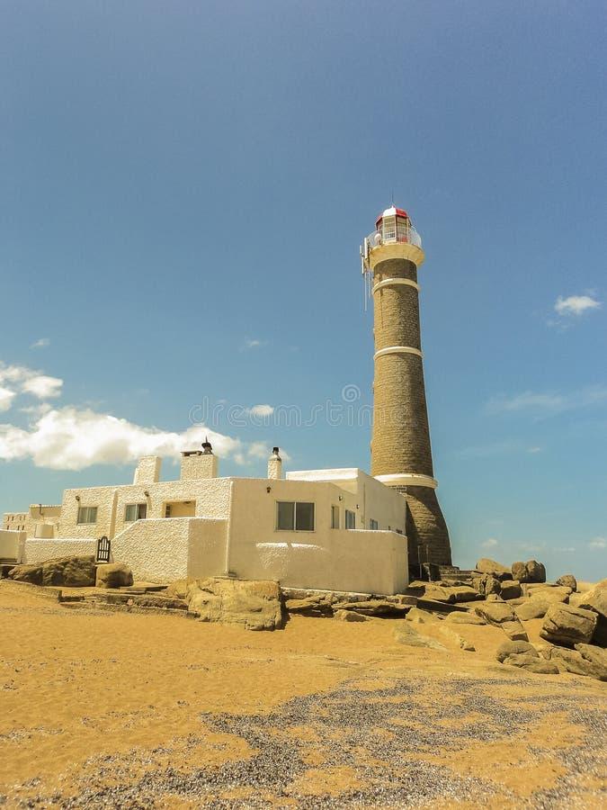 Jose Ηγνάτιος Lighthouse και η παραλία στοκ εικόνες με δικαίωμα ελεύθερης χρήσης