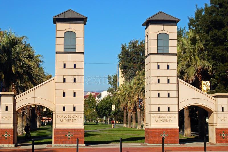 jose ・圣州立大学 库存图片
