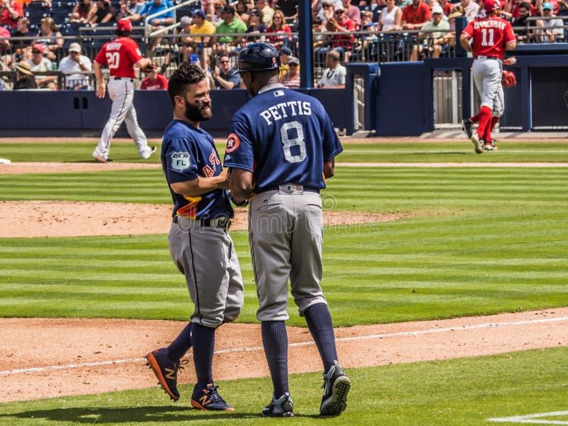 Jose Altuve Houston Astros 2017 photos stock