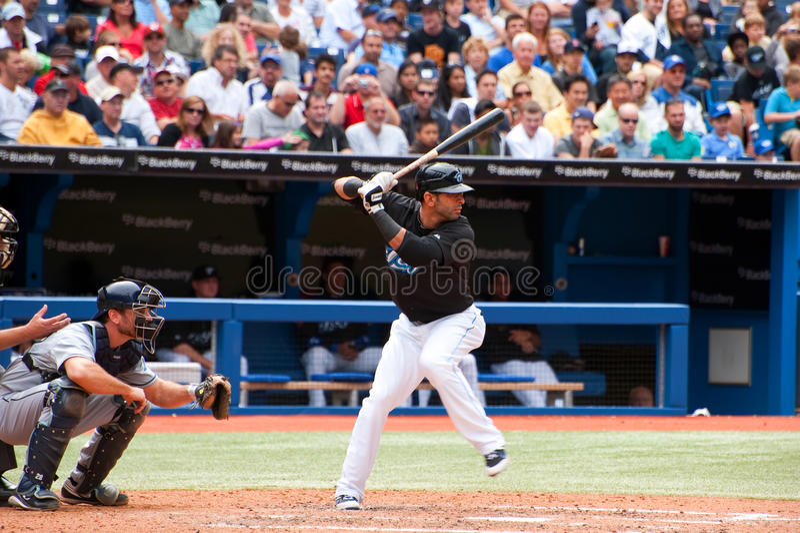 Jose Bautista del Toronto Blue Jays fotografie stock libere da diritti