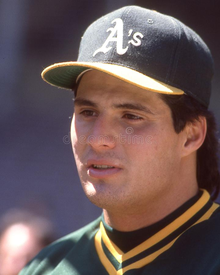 Jose Canseco, Oakland Athletics photos stock