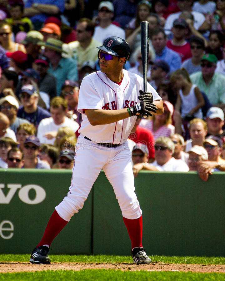 Jose Cruz Jr Boston Red Sox imagens de stock