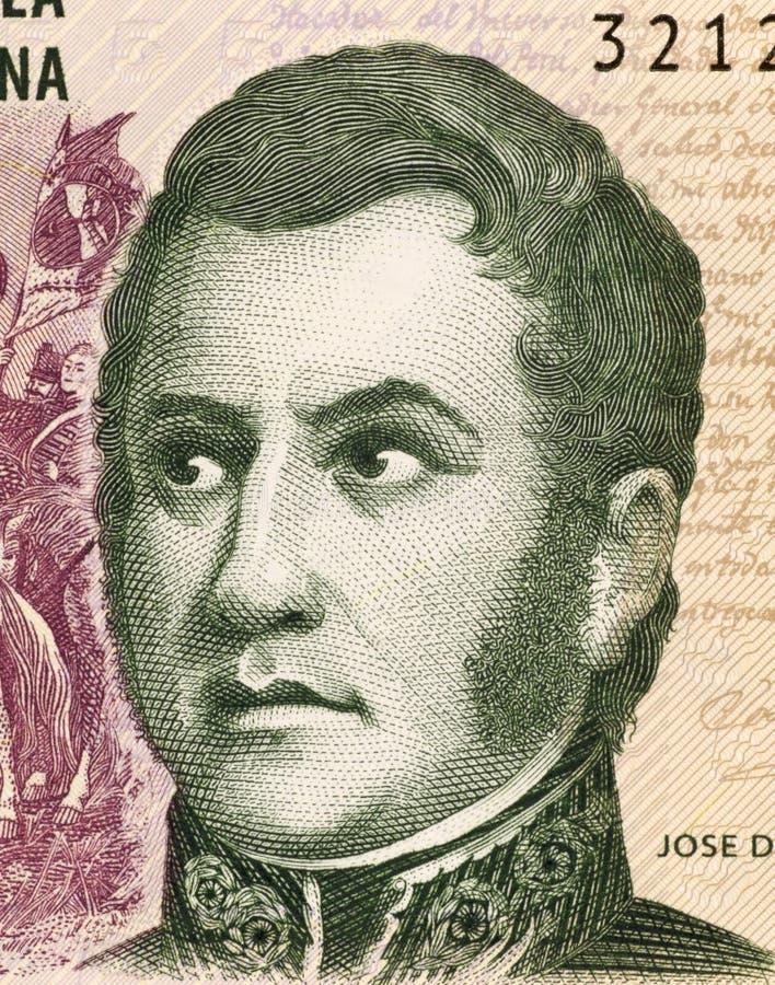 Jose de San Martin foto de archivo