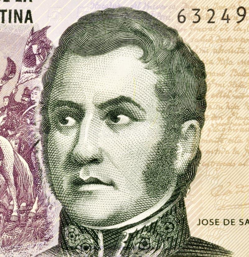 Jose de San Martin foto de archivo libre de regalías