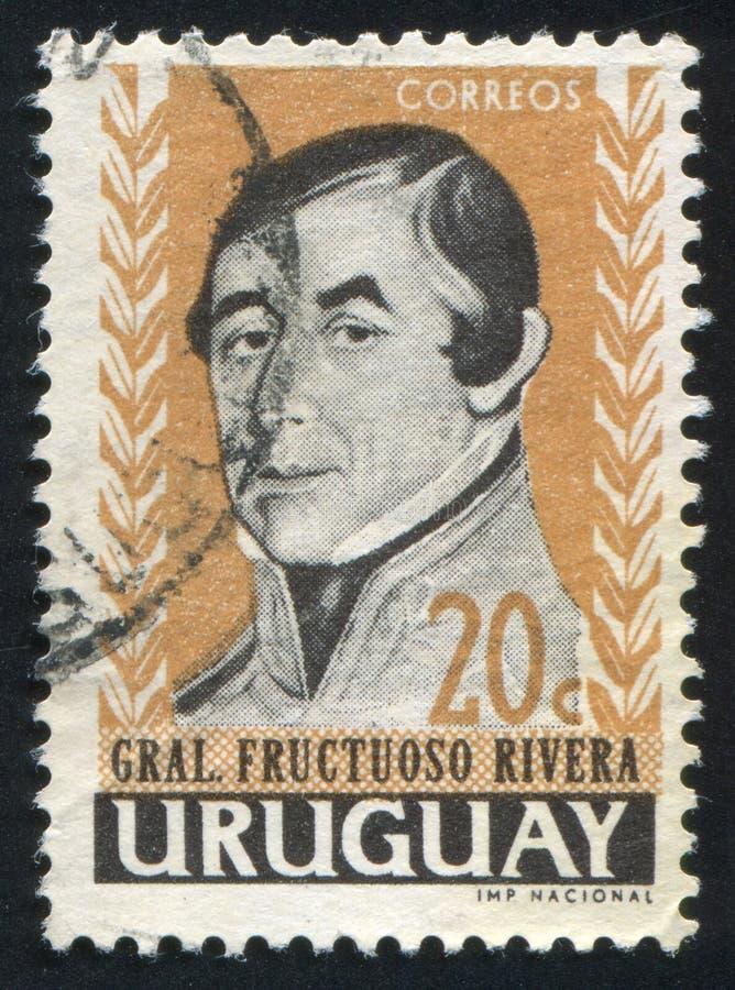 Jose Fructuoso Rivera immagine stock