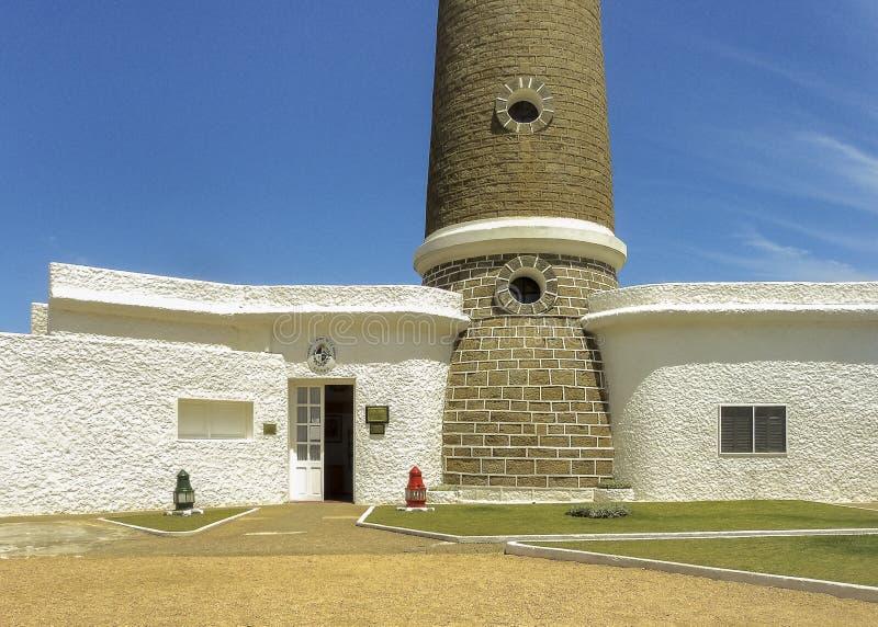 Jose Ignacio Lighthouse Facade fotos de stock royalty free