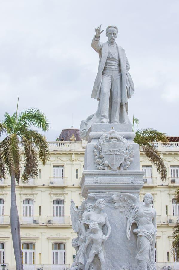 jose marti纪念碑 免版税库存照片