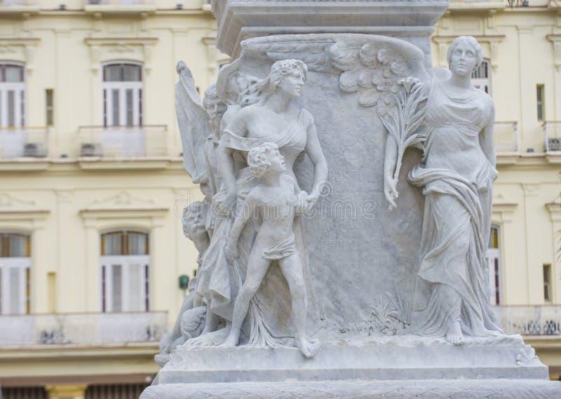 jose marti纪念碑 免版税库存图片