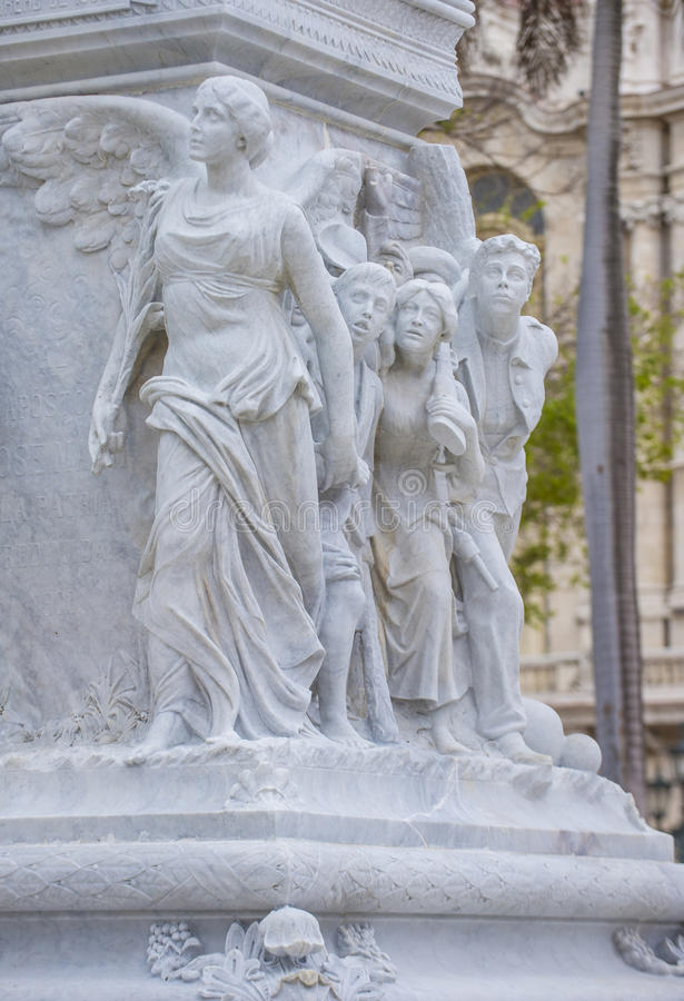 jose marti纪念碑 免版税图库摄影