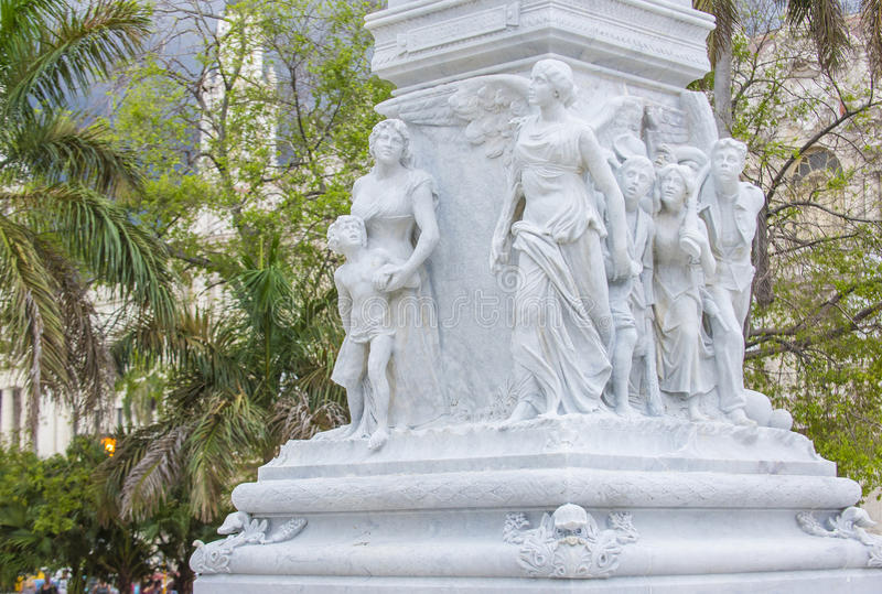 jose marti纪念碑 库存照片