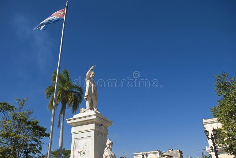 Jose Marti, Cienfuegos, Cuba stock foto