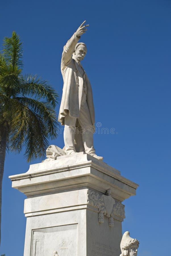 Jose Marti, Cienfuegos, Kuba zdjęcia royalty free