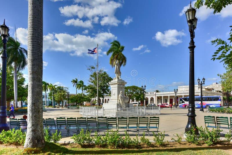 Jose Marti Park - Cienfuegos, Cuba royalty-vrije stock foto
