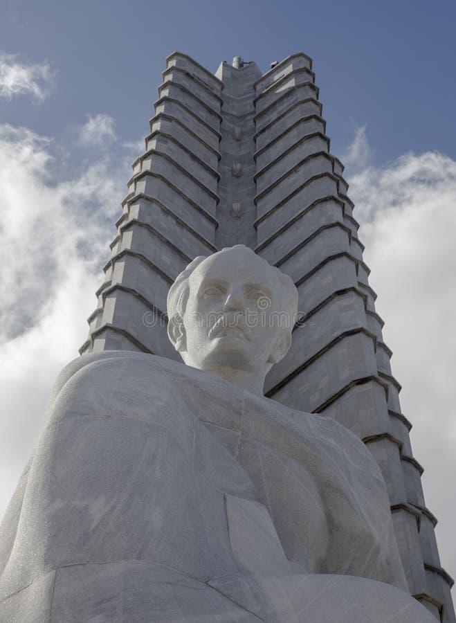 Jose Marti pomnik obrazy royalty free