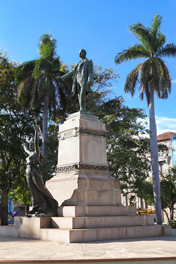 The Jose Marti Statue ,Havana Royalty Free Stock Image