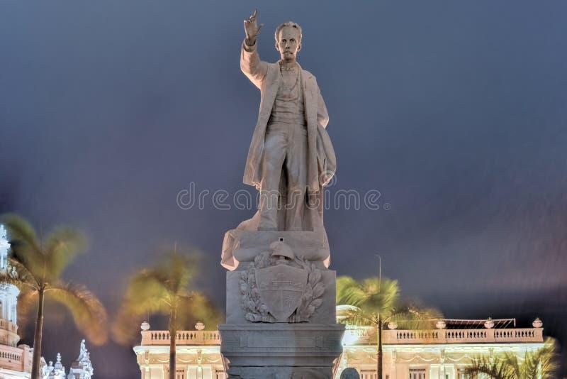 Jose Marti zabytek - Hawański, Kuba obraz stock