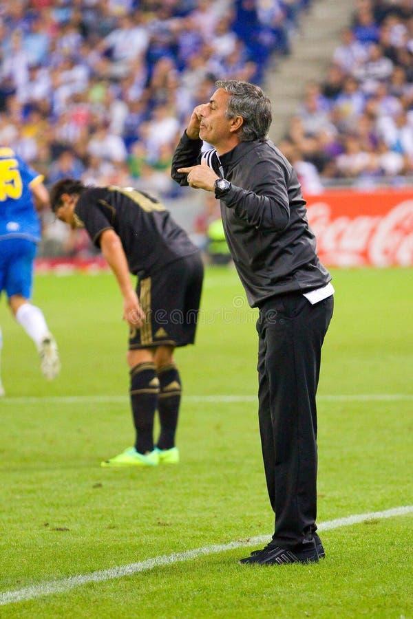 Jose Mourinho photos libres de droits
