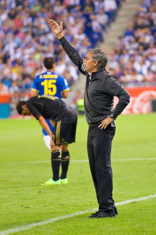 Jose Mourinho images libres de droits