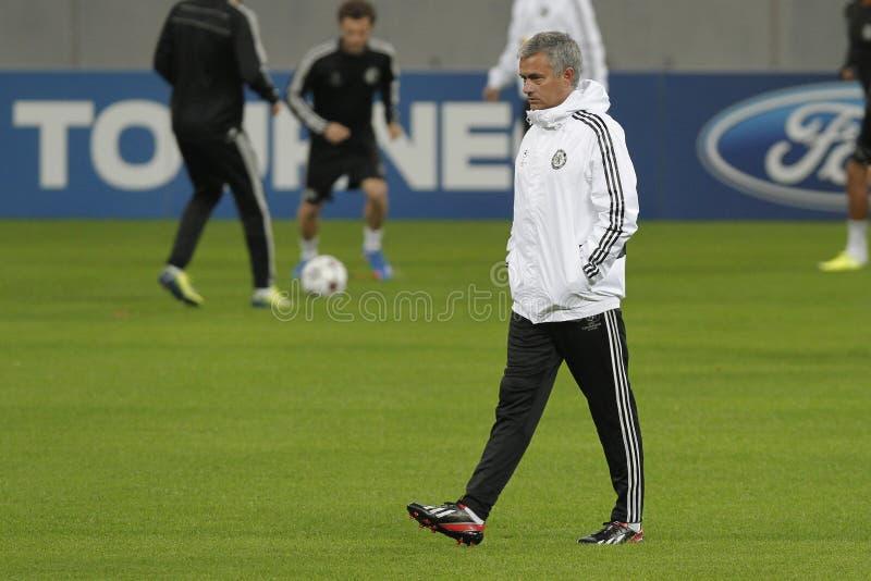 Jose Mourinho imagen de archivo