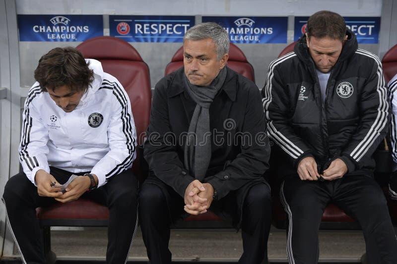 Jose Mourinho arkivbilder
