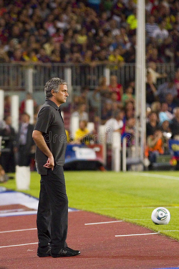 Jose Mourinho photographie stock